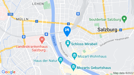 Loft Collection Salzburg Mirabell Map