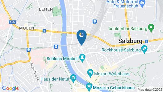 Hotel IMLAUER & Bräu Map