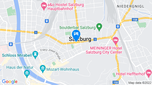 Holiday Inn Salzburg City Map