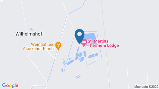 St. Martins Therme & Lodge Map