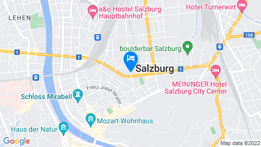 Mercure Salzburg City Map