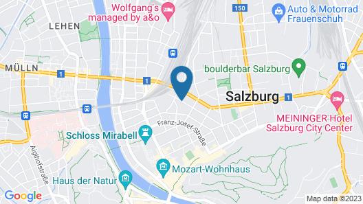 Lasserhof Salzburg Map