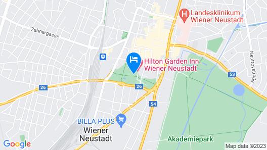 Hilton Garden Inn Wiener Neustadt Map