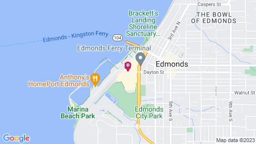 Best Western Plus Edmonds Harbor Inn Map