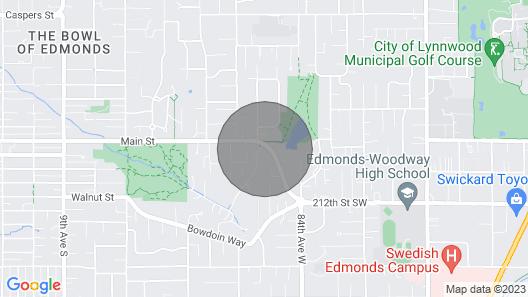 Main Street Retreat in Edmonds, Washington Map