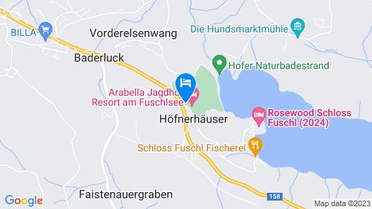 Sheraton Fuschlsee-Salzburg, Hotel Jagdhof Map