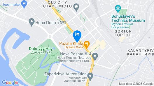 Teatralny Hotel Map