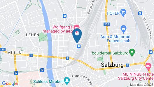 H+ Hotel Salzburg Map
