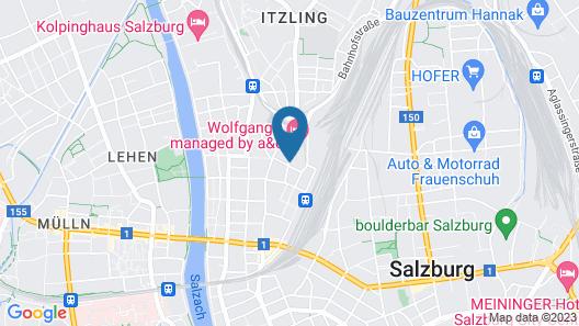 Wyndham Grand Salzburg Conference Centre Map