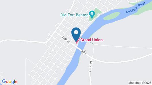 Grand Union Hotel Map