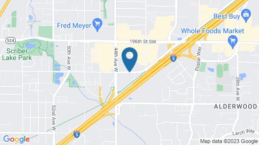 Courtyard by Marriott North Seattle/Lynnwood Map