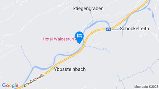 Waldesruh Map