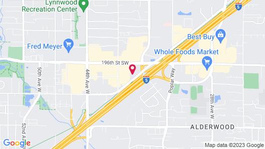 Hilton Garden Inn Seattle Lynnwood, WA Map