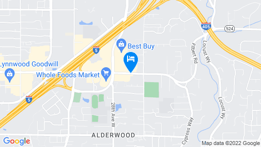 Holiday Inn Express & Suites Seattle North - Lynnwood Map