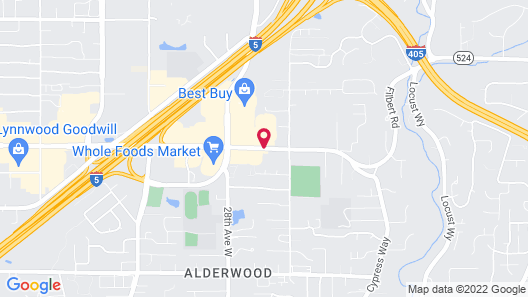 Holiday Inn Express & Suites Seattle North - Lynnwood, an IHG Hotel Map