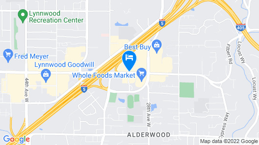 Extended Stay America Seattle - Lynnwood Map