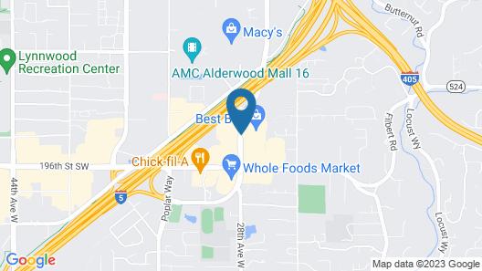 Hampton Inn & Suites Seattle North - Lynnwood Map