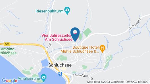Vier Jahreszeiten am Schluchsee Map