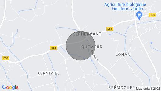 Plobannalec Lesconil: Country Holiday Home - Plobannalec-lesconil Map