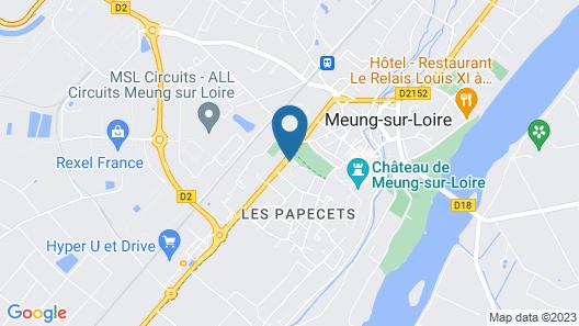 Best Western La Porte des Châteaux Map