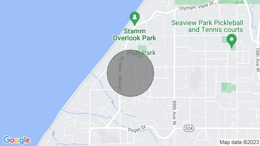 Edmonds View Chalet NEW Listing Map