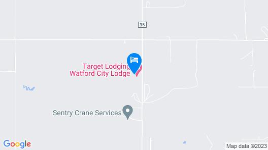 Target Hospitality-Watford City Lodge Map