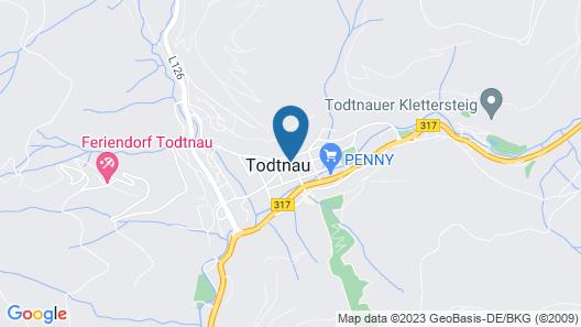Ferienwohnung Hasenhorn Map