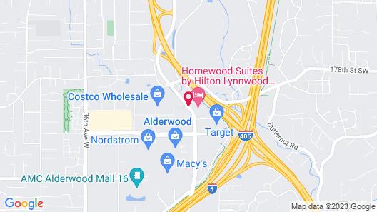 Residence Inn by Marriott Seattle North-Lynnwood Everett Map
