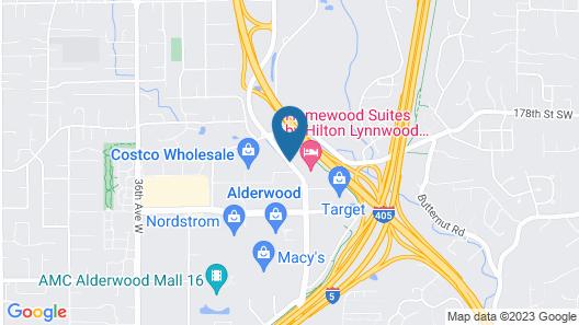 Homewood Suites by Hilton Lynnwood Seattle Everett, WA Map