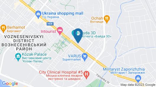 Dream Hostel Zaporizhzhia Map