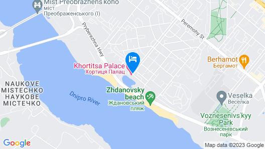 Khortitsa Palace Map