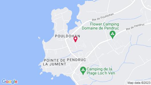 Azureva Tregunc Map
