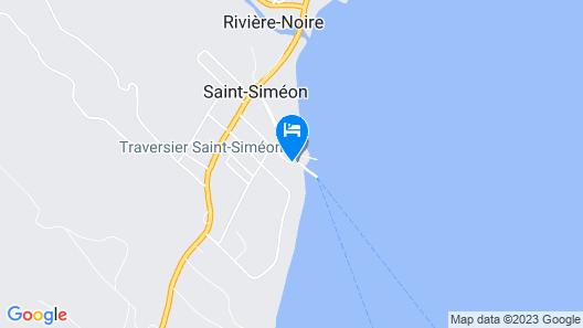 Auberge Sur Mer de Charlevoix Map