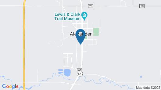 Motel Alexander Map
