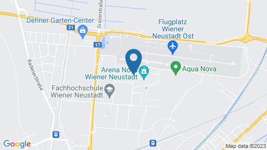 Hotel Orange Wings Wiener Neustadt Map
