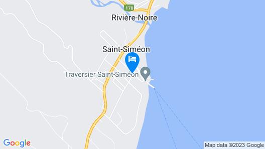 Motel Belvédère Map