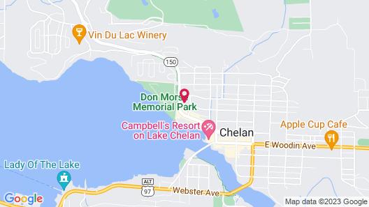 WorldMark Chelan - Lake House Map