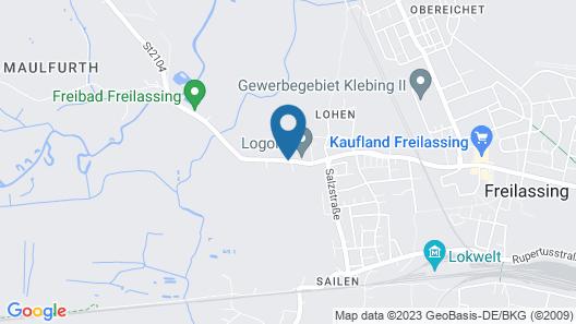 Hotel Gasthof Moosleitner Map