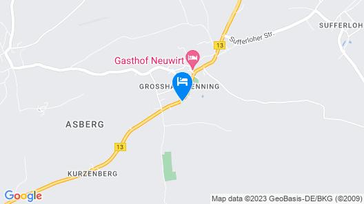 Hotel und Landgasthof Altwirt Map