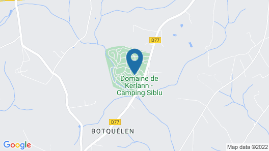 Camping Domaine de Kerlann Map