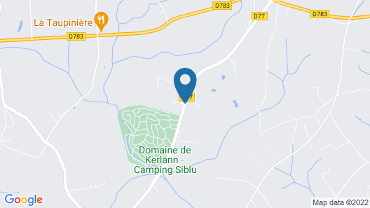 Welcome to Brittany at Domaine de Kerlann Map