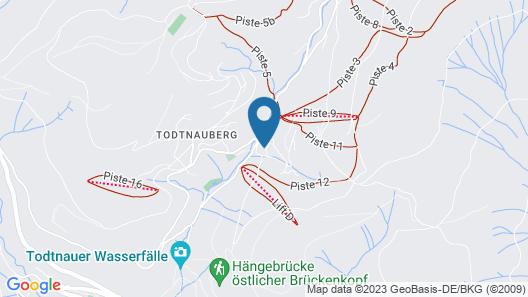 Haus am Sonnenberg Map