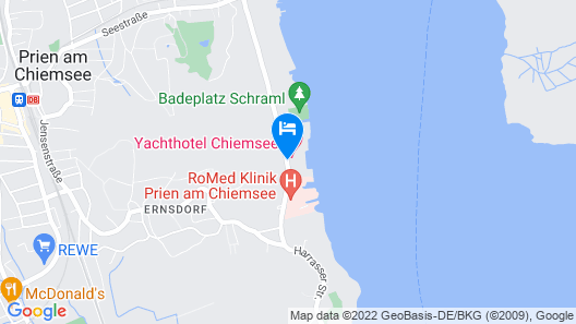 Yachthotel Chiemsee Map