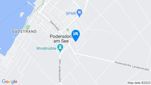 Sporthotel Podersdorf Map