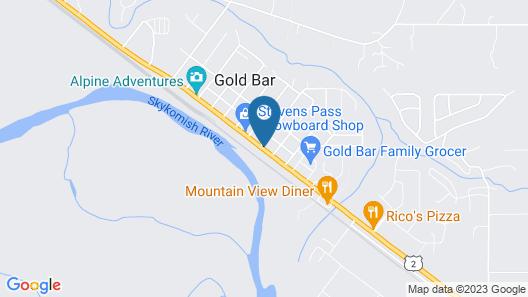 Stevens Pass Motel Map
