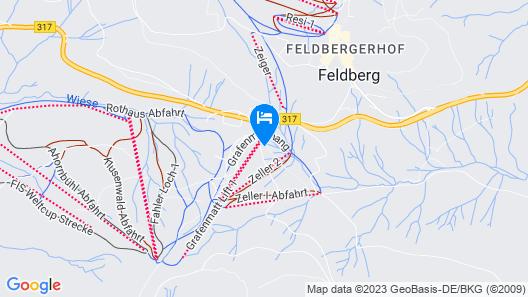 Kuckucksnester Feldberg Map