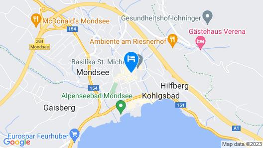 Iris Porsche Hotel & Restaurant Map