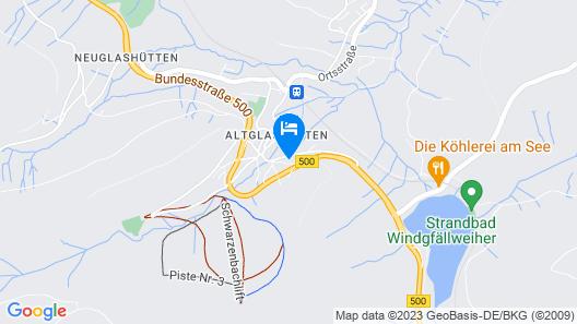 Ferienhotel Schwarzwälder Hof Map