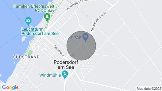 Apartments Home Rosenhof, Podersdorf Map