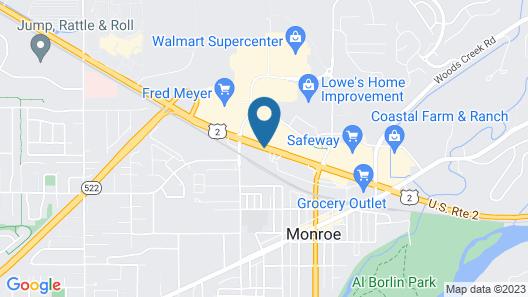 Fairground Inn Map